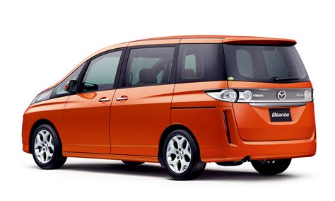 new mazda van mazda releases all new biante minivan