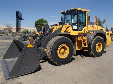 volvo lh wheel loaders construction equipment