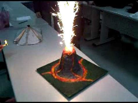 school geography project   volcano youtube