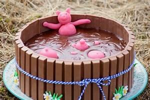 Image De Gateau D Anniversaire : g teau bain de boue de cochons ganache chocolat au lait ~ Melissatoandfro.com Idées de Décoration