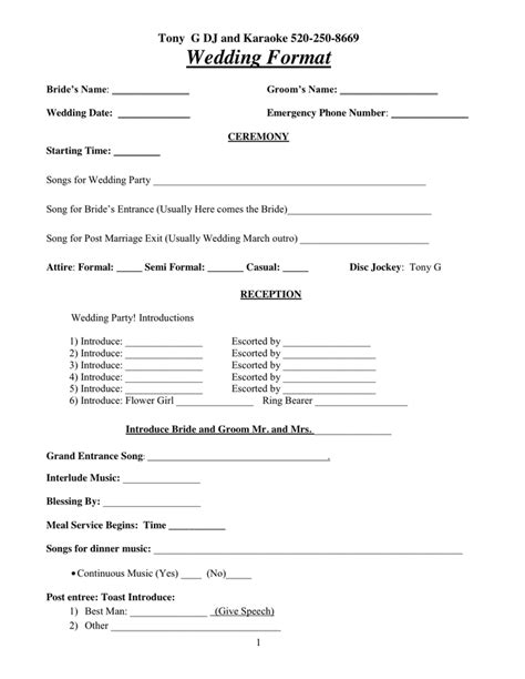 dj contract template dj contract in word and pdf formats