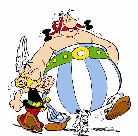 ser alla fransmaen ut som asterix och obelix  il convito