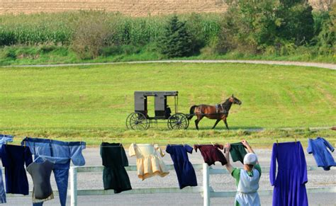 glimpse  life   amish home yoders amish home tours