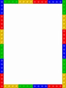 Clipart - Lego frame 2