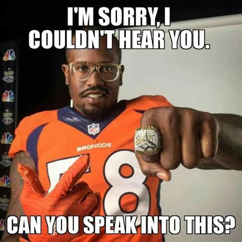 Broncos Meme - 24 best von miller images on pinterest broncos fans denver broncos football and broncos