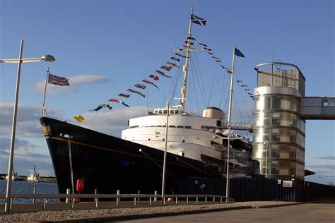 Boat Sales Edinburgh the former royal yacht britannia and luxury scotland