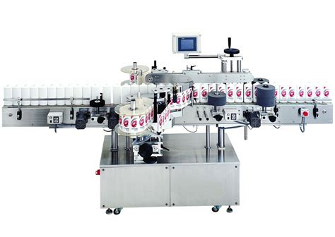 food  beverage automatic cold glue labeling machine   bottles  hz