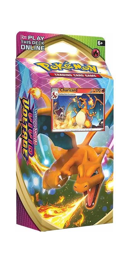Pokemon Vivid Voltage Charizard Tcg Deck Theme