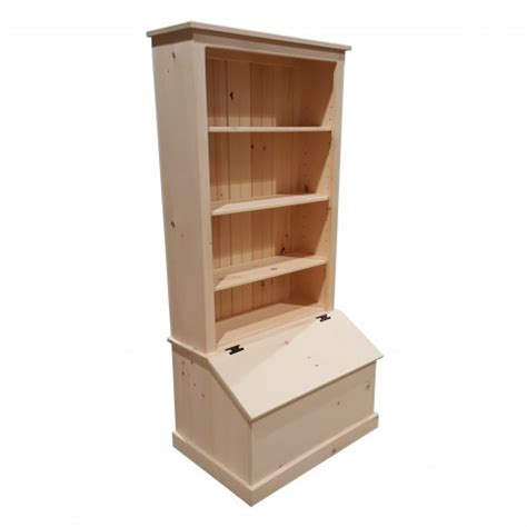 Toybox Bookshelf by Box Bookcase Combo Peaceful Valley Amish Furniture