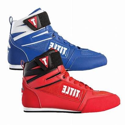 Shoes Boxing Title Elite Fighting Canada Leather