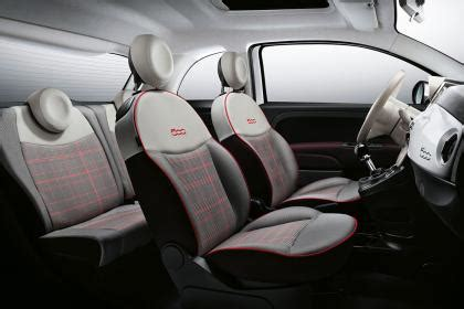 tappezzeria fiat 500 lounge 2016 fiat 500 facelift unveiled prices specs and images