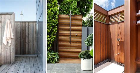 Outdoor Showers : 10 Excellent Examples Of Outdoor Shower Designs
