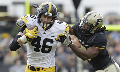 falcons potential draft pick profile te george kittle iowa