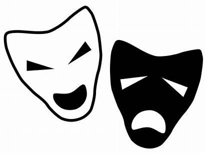 Clipart Drama Faces Theatre Transparent Clip Masks
