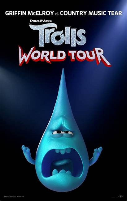 Trolls Tour Poster Posters Date Release Dvd