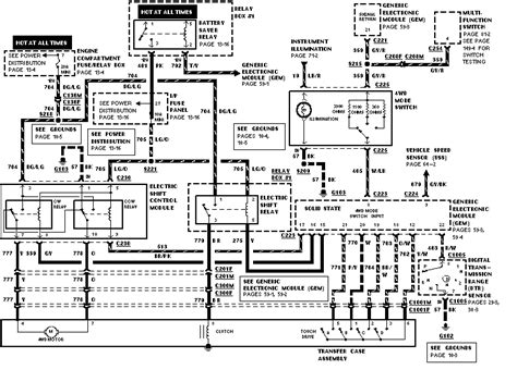 1997 Ford Ranger Wiring Diagram by 97 Ranger 4x4 Wiring Diagram Ford Truck Enthusiasts Forums