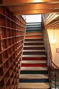 Deco Marche Escalier : am nagement escalier 4 strat gies pour rafra chir l 39 escalier de la maison c t maison ~ Teatrodelosmanantiales.com Idées de Décoration