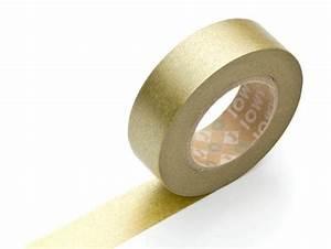 Masking Tape Doré : masking tape uni dor papeterie et d coration washi tape pour le scrapbooking et le diy ~ Teatrodelosmanantiales.com Idées de Décoration