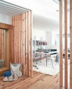 Kreative Ideen Für Zuhause : raumteiler pfirsig farbe bretter 42 kreative raumteiler ideen f r ihr zuhause livingroom ~ Markanthonyermac.com Haus und Dekorationen