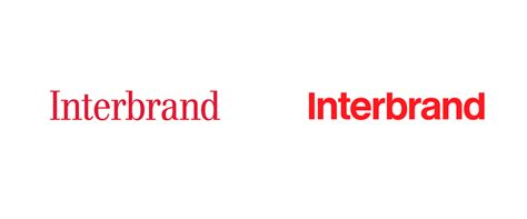 brand new new logo and identity for interbrand done in house