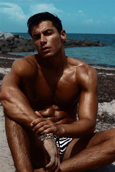 top model andrea denver  stevan reyes marcuse swimwear