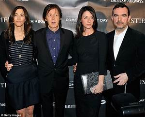 Paul McCartney and wife Nancy Shevell