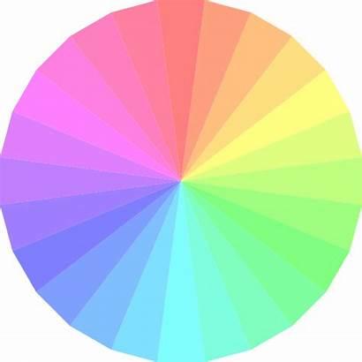 Circle Rainbow Transparent Wheel Clipart Clip Background