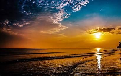 Sunrise Desktop Wallpapers Beach Nature Cool Wallpapersafari