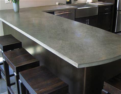 comptoir ciment cuisine comptoir de cuisine et plan de travail écologiques geste