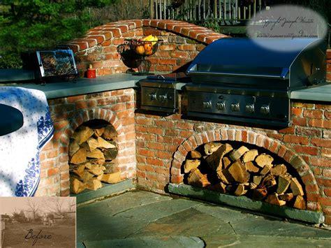 23+ Lovely Outdoor Kitchen Brick