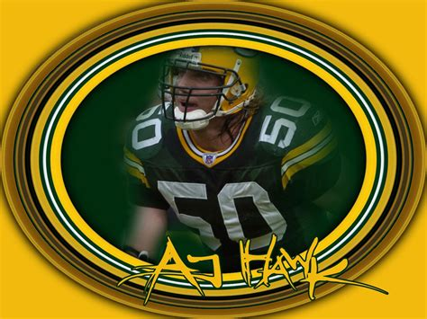 aj hawk green bay packers wallpaper  fanpop