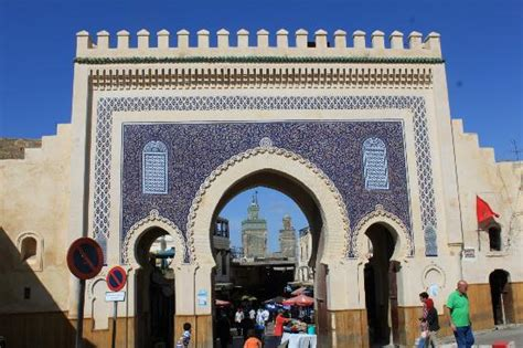 Picture Of Bab Boujloud, Fes