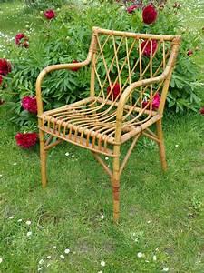 Fauteuil En Osier : fauteuil vintage en osier fauteuil des ann es 60 ~ Melissatoandfro.com Idées de Décoration