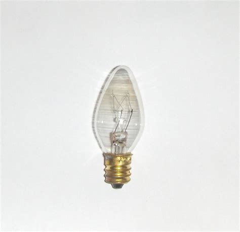 15 Watt Chandelier Light Bulbs 15 watt steady burn light bulb 15w e12 candelabra ebay