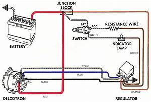 Dodge External Voltage Regulator Wiring Diagram