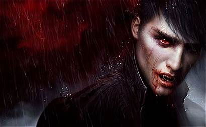 Vampire Dark Background Wallpapers Wallpaperplay