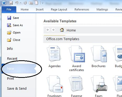 How To Get Resume Templates On Microsoft Word by Microsoft Resume Template Word 2010
