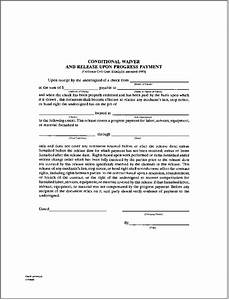 fantastic partial lien waiver template contemporary With partial lien waiver template