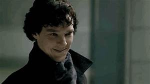 Sherlock Smiling GIFs - Find & Share on GIPHY