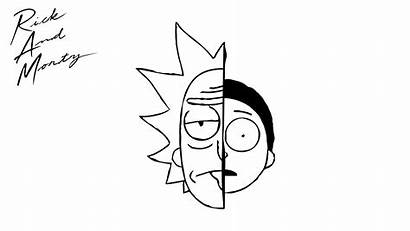 Morty Rick Coloring Pages Printable Head Bestcoloringpagesforkids