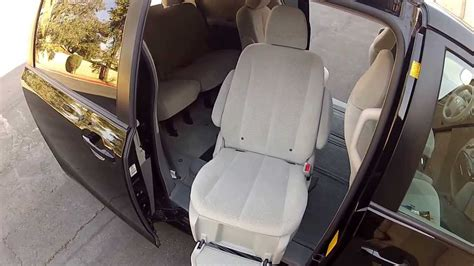 2012 toyota auto access seat disabled person