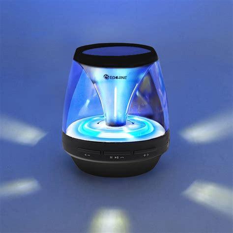 bluetooth speaker with lights new jar portable wireless bluetooth speaker led