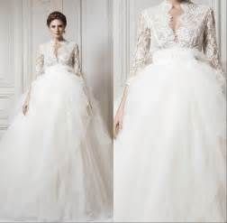 wedding dress 3 4 sleeve 2015 wedding dresses with 3 4 sleeve lace 2015 sheer v neck chapel cheap gowns