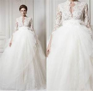 Long sleeve wedding dresses cheap high cut wedding dresses for Wedding dresses with sleeves cheap