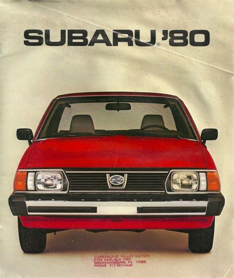 subaru wagon 1980 subaru 1980 subaru love pinterest