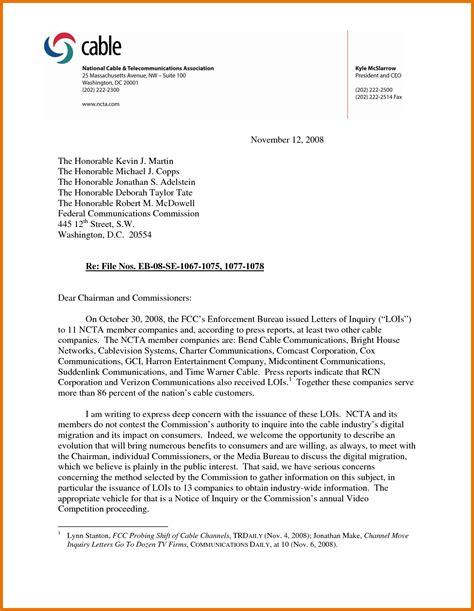 business letters exles business letter of inquiry sle the letter sle