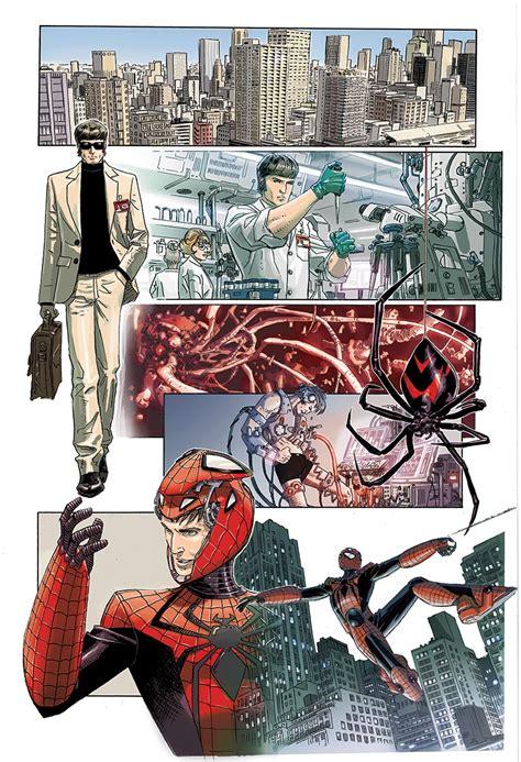 comics    sci fi spider man  edge  spider