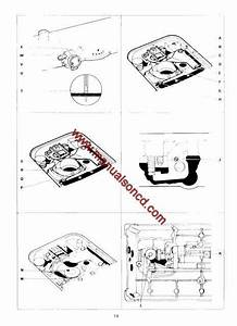 Singer 500 Sewing Machine Service Manual 518  538  513