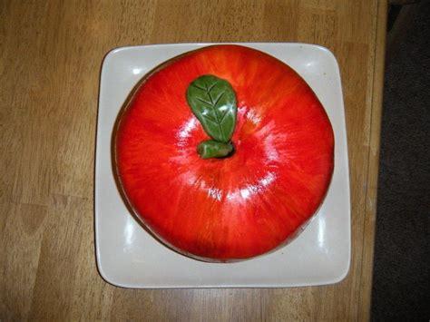 amazing apple cake   decorate  food shaped cake