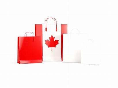 Canada Shopping Flag Bags Commercial Non Use